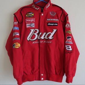 Budweiser Dale Earnhardt Jr NASCAR Jacket